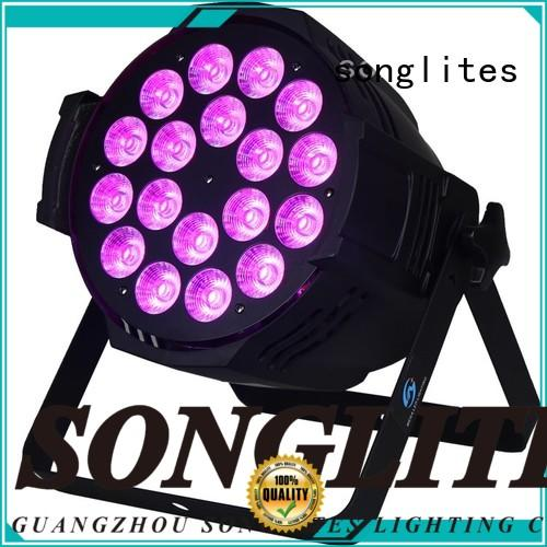 Songlites 1815w led rgb stage lighting Low noise for party