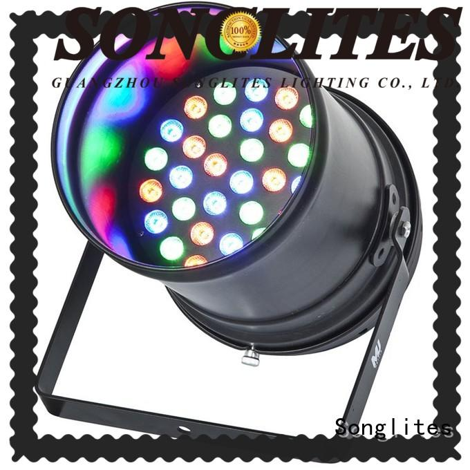 Songlites stable led rgb stage lighting Auto operation for bar