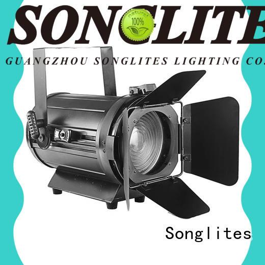 Songlites adjustable used fresnel lights supplier for shop windows