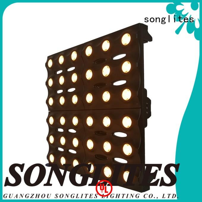 Songlites adjustable matrix led lights energy saving for studios