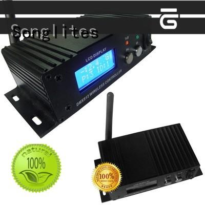 Songlites convenient wireless dmx transceiver energy saving for ballroom