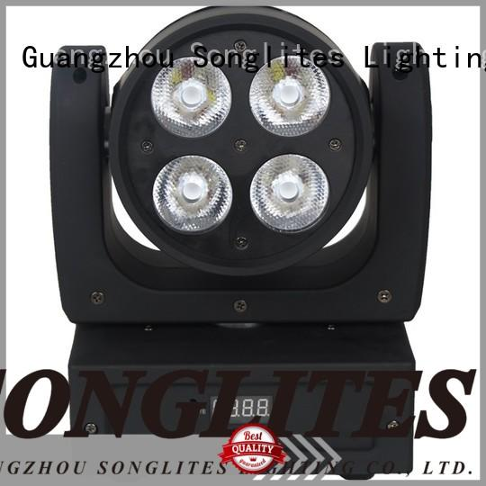 Songlites sl1019 mini led mini moving head easy installation for dance halls