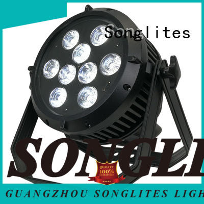 Songlites dmx par can lights supplier for entertainment plaza