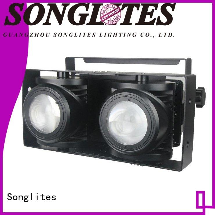 Songlites 100w white led par can auto-mode for lightingtheme parks