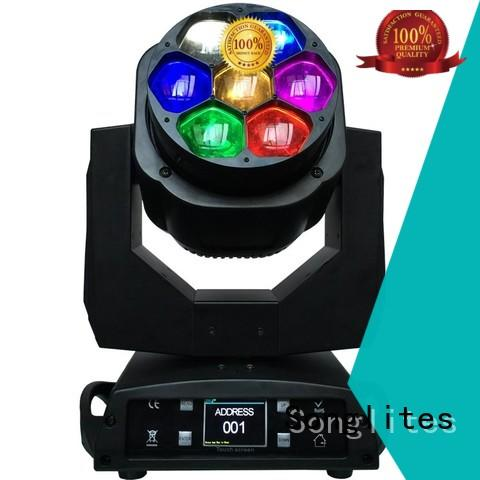 Songlites electronic mini moving head light sl1006b3 for stage