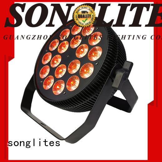 Songlites 1w par38 flood light Low noise for exhibition show