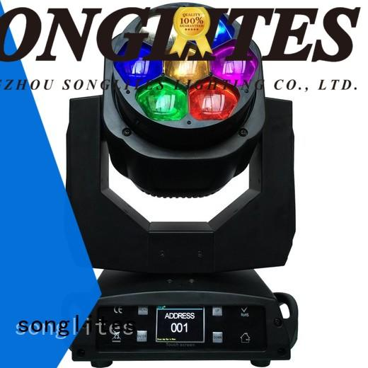 led rgbw ostar Songlites Brand led wash zoom