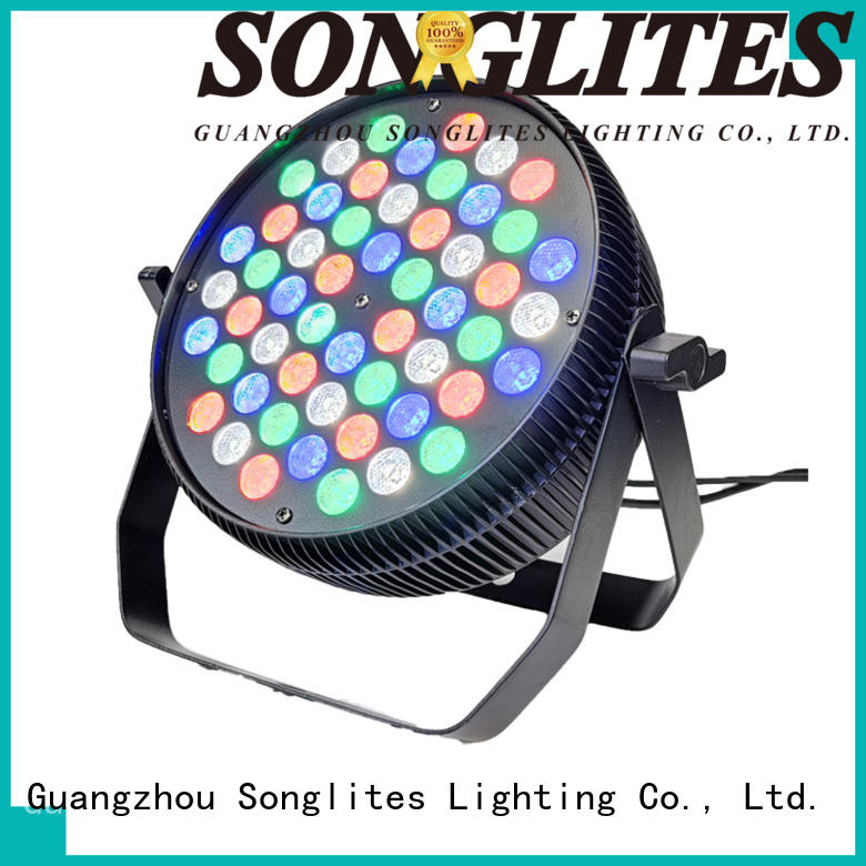 Songlites remote control led rgb stage lighting Auto operation for band