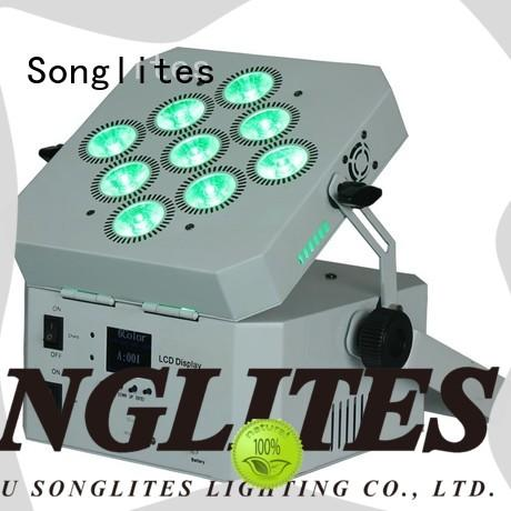Electronic led lighting par cans wifi low noise for theaters