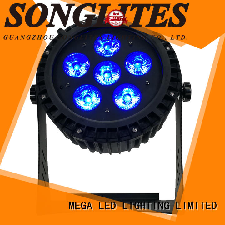 Songlites used led par cans with discount for shopping center