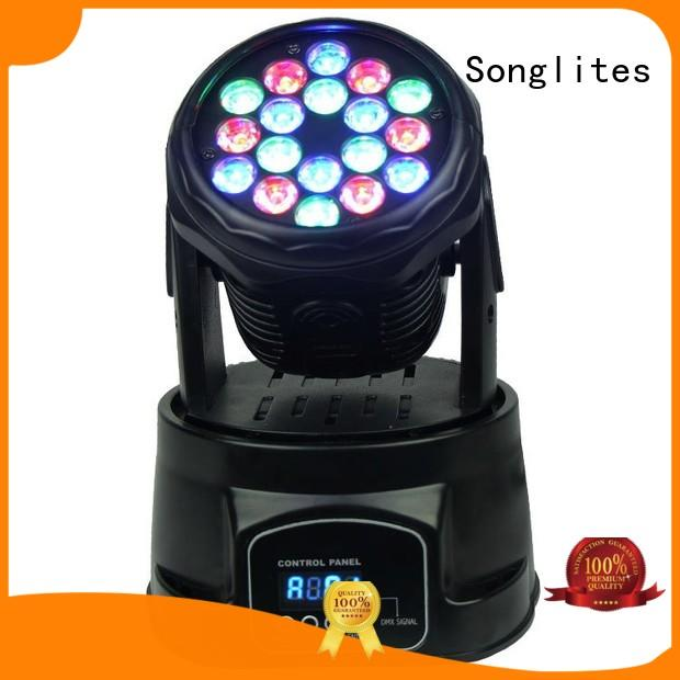 Songlites best dj light moving head price wash for parties