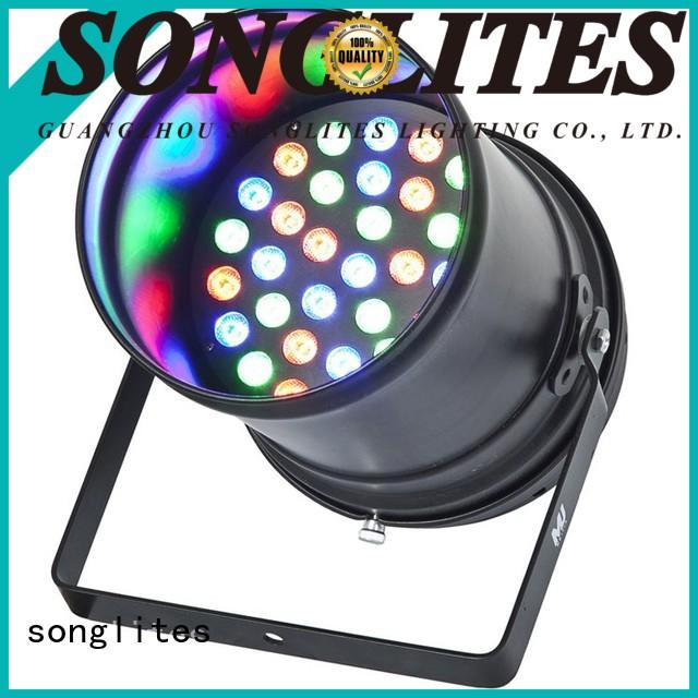 Songlites light par led cans supplier for theater
