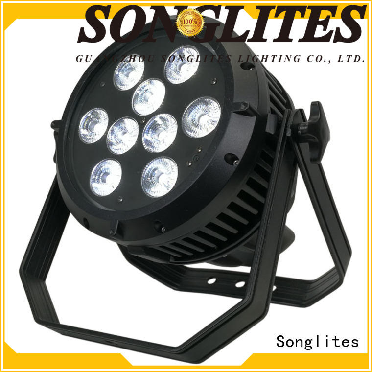 Songlites APP control dj led par lights supplier for mansion