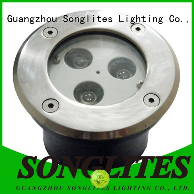 Songlites professional best solar garden path lights high brightness for buildings