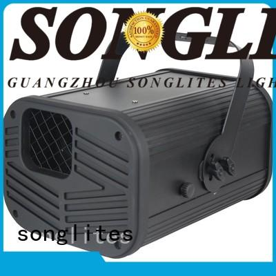 Songlites best christmas laser light show projector Low noise for band