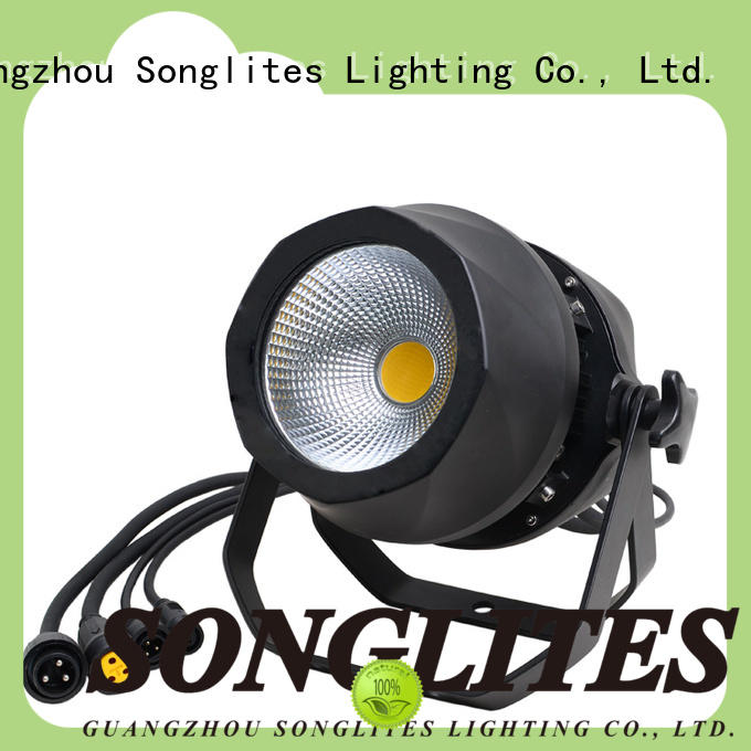 Songlites attractive white led par can on sale for lightingtheme parks
