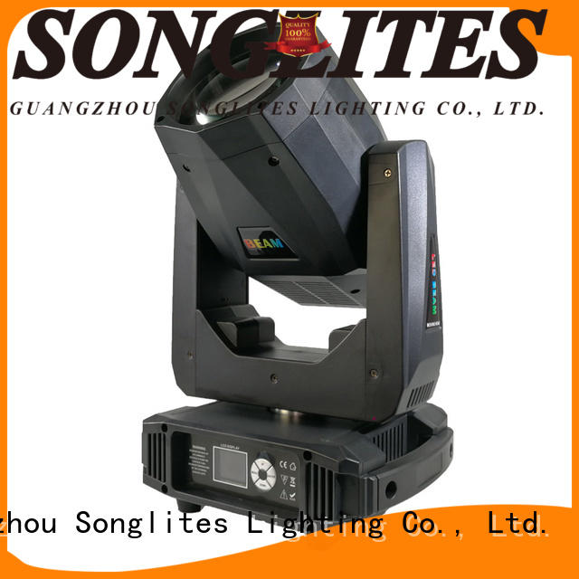 Plastic beam lights 75w high quality for stage