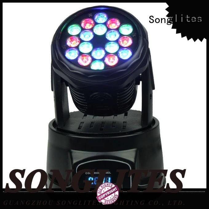 Songlites professional mini led moving head light for sale for slow rocking
