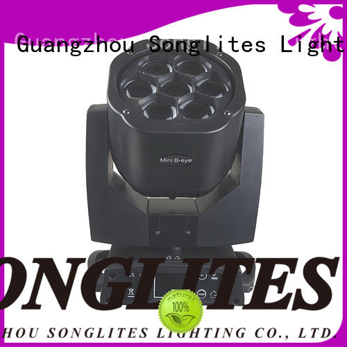 Songlites colorful led moving head spot manufacturer for performances