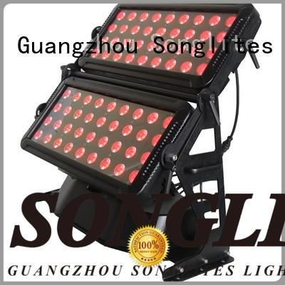 Songlites colorful outdoor low voltage landscape lighting versatility for theme parks