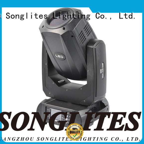 Songlites Plastic dj moving light price onlion for bands