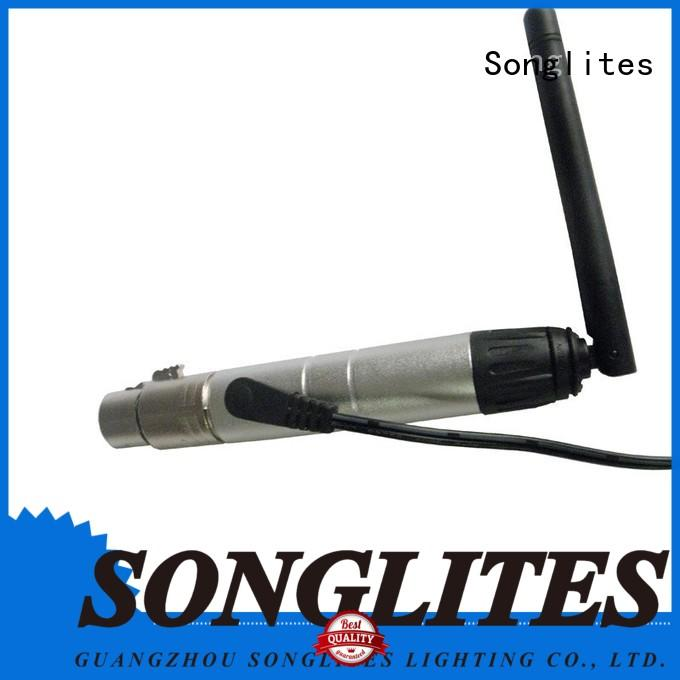 Songlites wireless etc wireless dmx supplier for concert