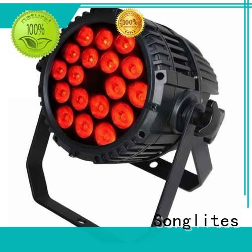 outdoor house spotlights rgbwauv Bulk Buy 18pcs Songlites