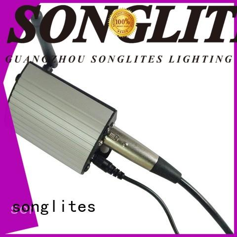 Songlites easy use wireless dmx kit factory price for night club