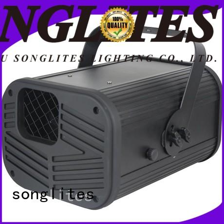 Songlites professional best laser light show projector Low noise for stage
