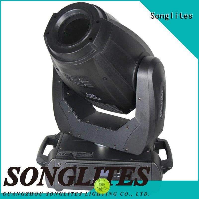 Songlites cree led moving head for sale for theater