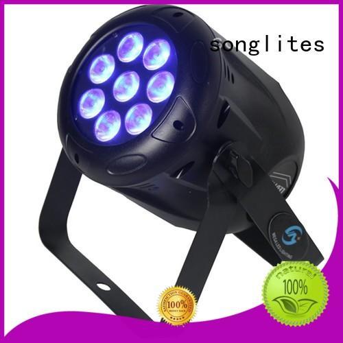 Custom 10w leds 54 led par light Songlites 3w