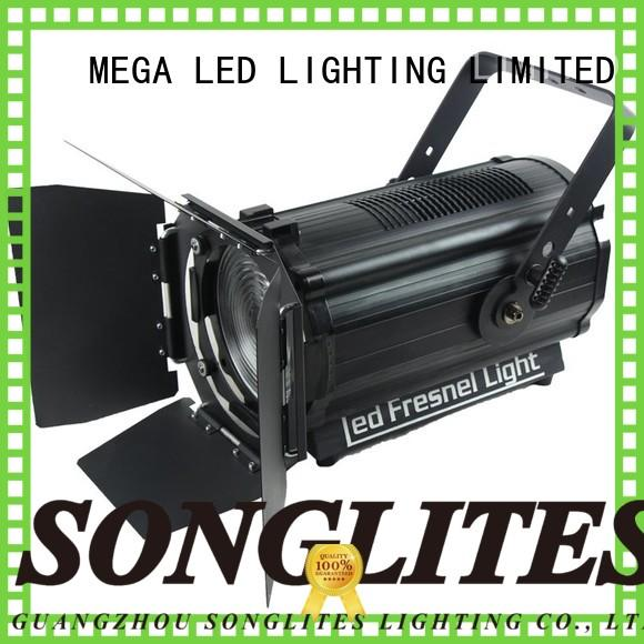Songlites studio used fresnel lights Low noise for shopping malls