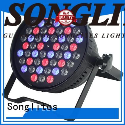 Songlites remote control par led cans supplier for band