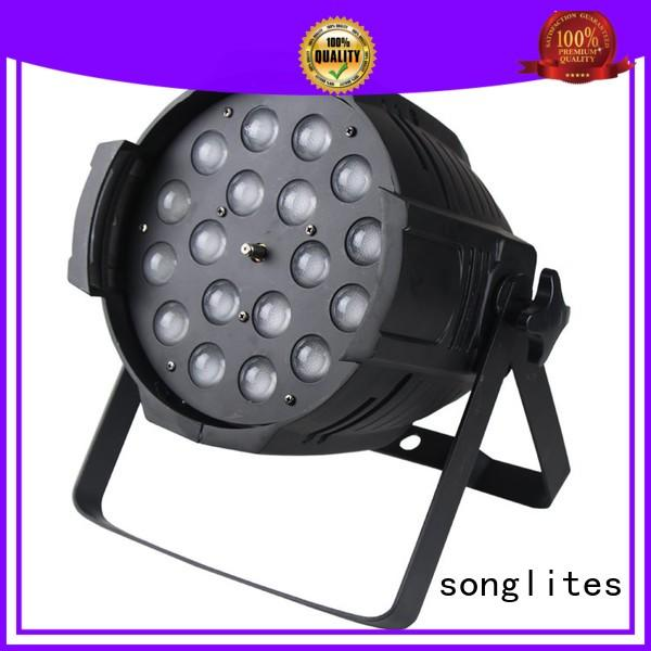 can lights for stage waterproof Songlites Brand arena par zoom