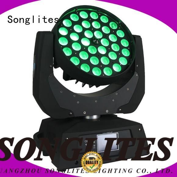 Songlites Brand rgbw osram custom design wash led zoom