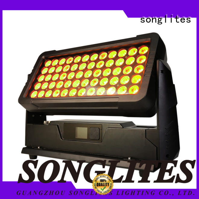 Songlites bar solar led lights outdoor manufacturer for entertainment plaza