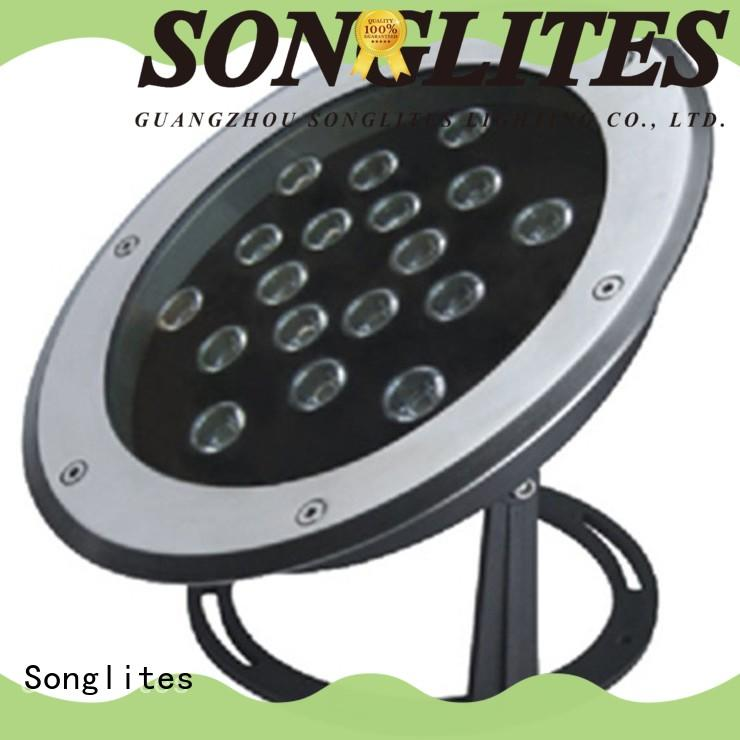 Songlites 1w3w18pcs led pool light with remote energy saving for swimming pool