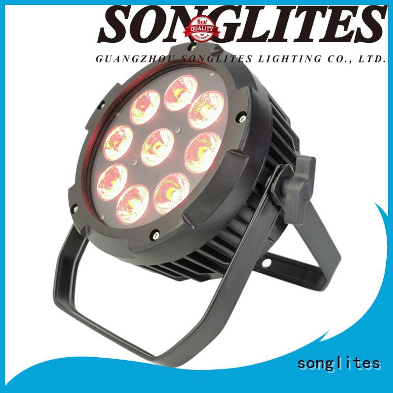 Songlites master-slave control outdoor lighting led spotlights supplier for theme parks