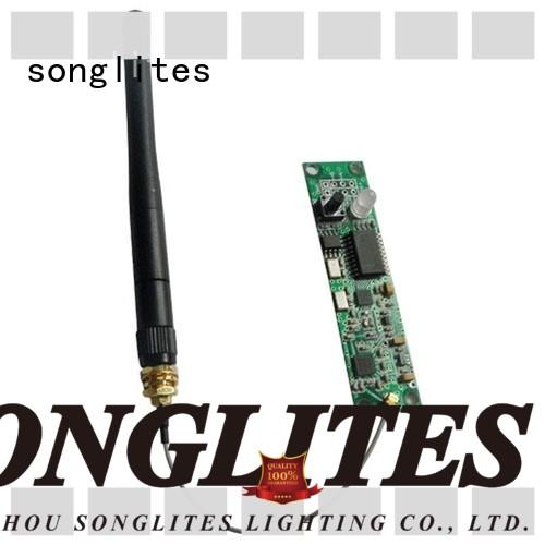 Songlites easy use etc wireless dmx energy saving for theater