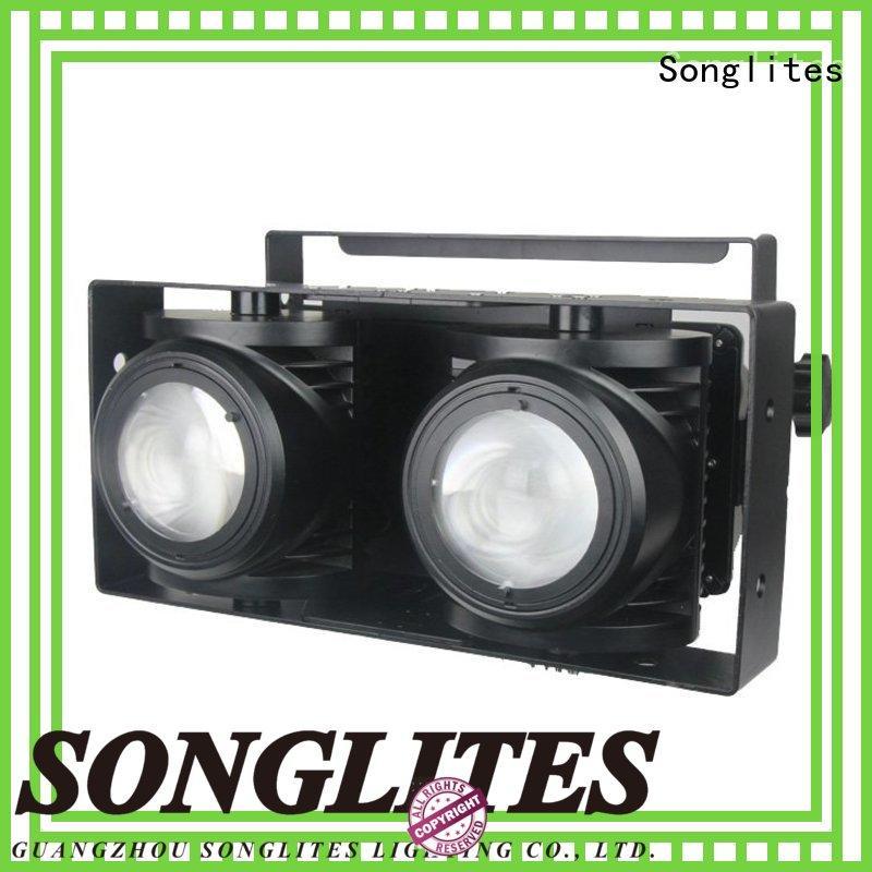 Songlites 2pcs par can 64 led lights energy saving for TV studios