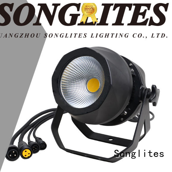 Songlites 1pcs white led outdoor lights sound control for video production