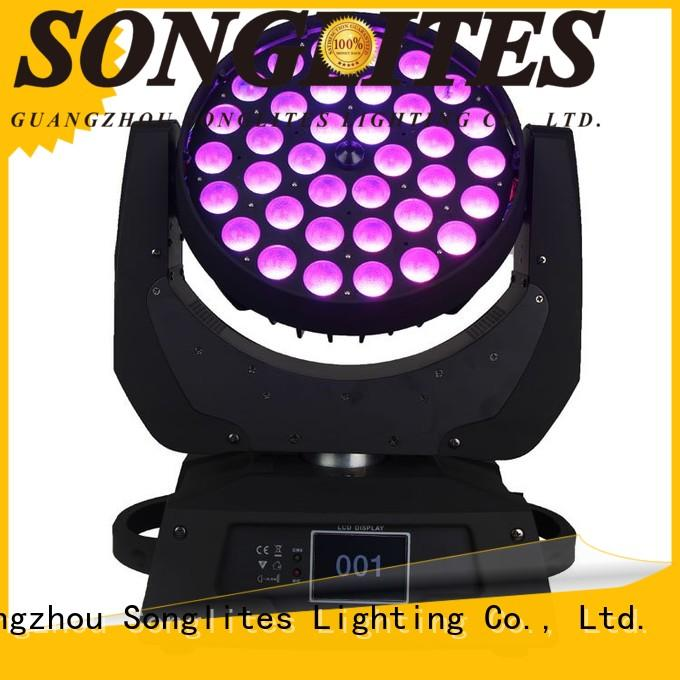Songlites 10w intimidator wash zoom 350 irc manufacturer for stage