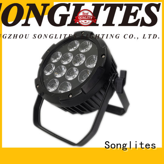 Songlites remote control outdoor lighting led spotlights with a small size,