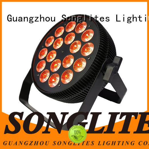 remote control par38 led flood light can wholesale for theater