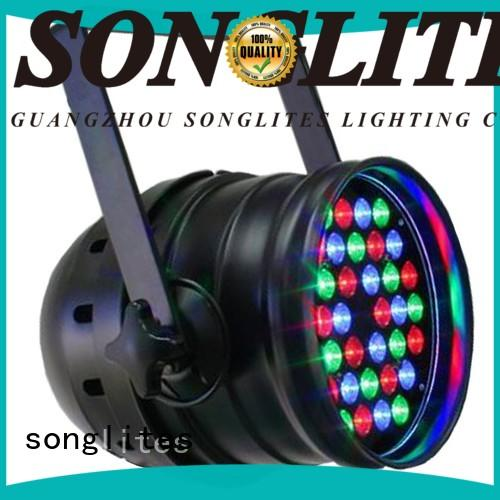 Songlites waterproof led par leds for church