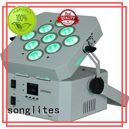 6pcs Custom rgbw wireless indoor party lights Songlites in16