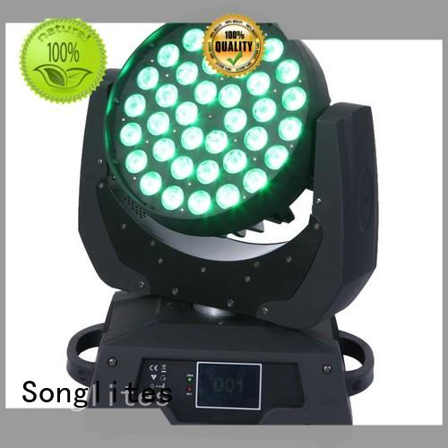Songlites rgbw spot moving head for photography for parties