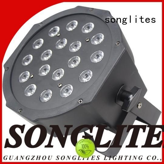 Songlites adjustable par38 flood light supplier for stage