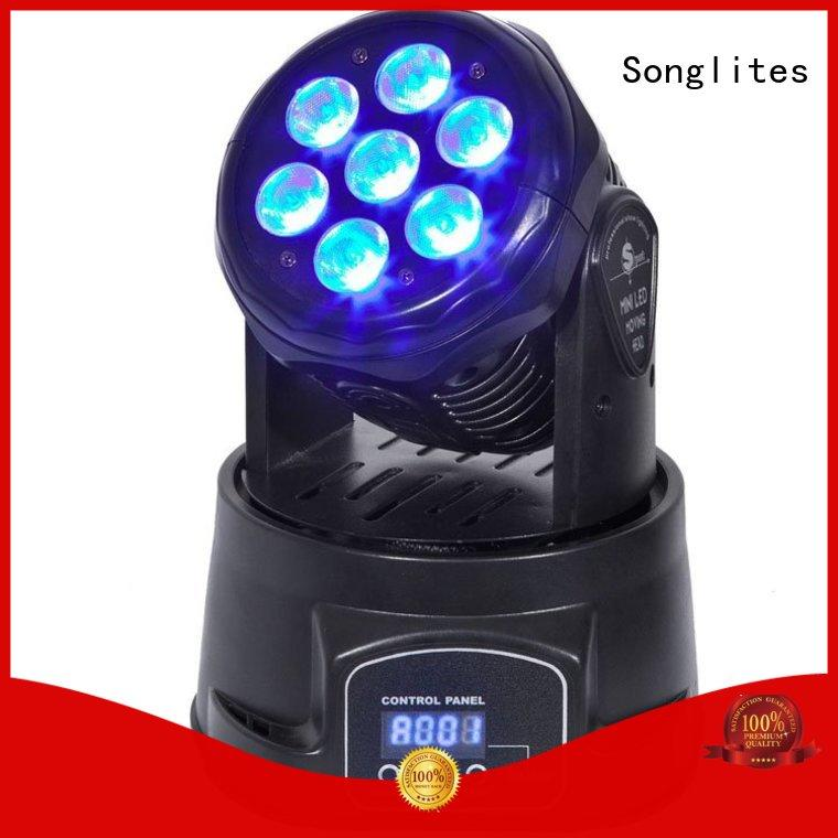 stage lighting design in1 10w moving stage lights pocket Songlites Brand
