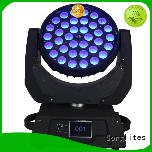 19pcs rgbw Songlites Brand design wash led zoom